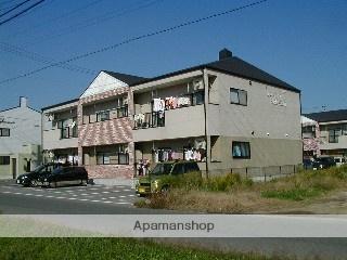 愛知県岡崎市、美合駅名鉄バスバス15分保母境下車後徒歩2分の築18年 2階建の賃貸アパート