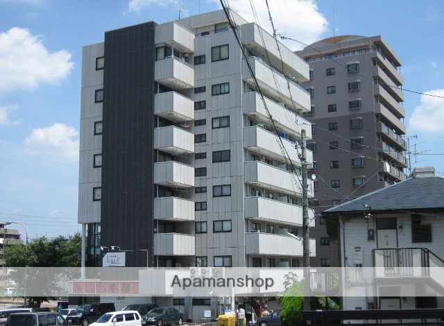 愛知県岡崎市、岡崎駅徒歩7分の築22年 8階建の賃貸マンション
