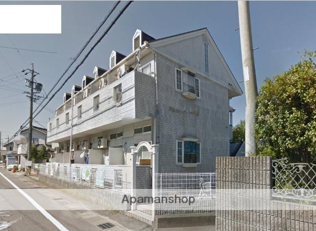 愛知県岡崎市、岡崎駅徒歩18分の築25年 2階建の賃貸アパート