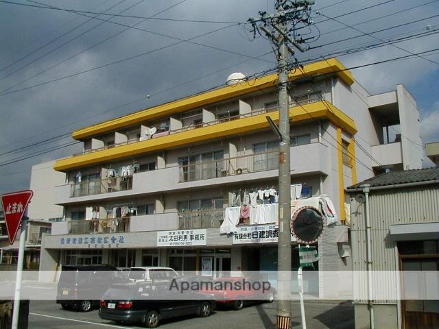 愛知県岡崎市、六名駅名鉄バスバス5分岡崎警察署前下車後徒歩7分の築39年 4階建の賃貸マンション