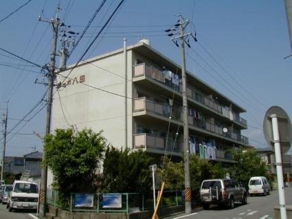 愛知県岡崎市、岡崎駅徒歩10分の築40年 4階建の賃貸マンション