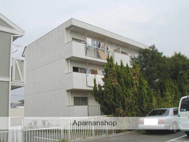 愛知県岡崎市、東岡崎駅徒歩18分の築35年 3階建の賃貸マンション