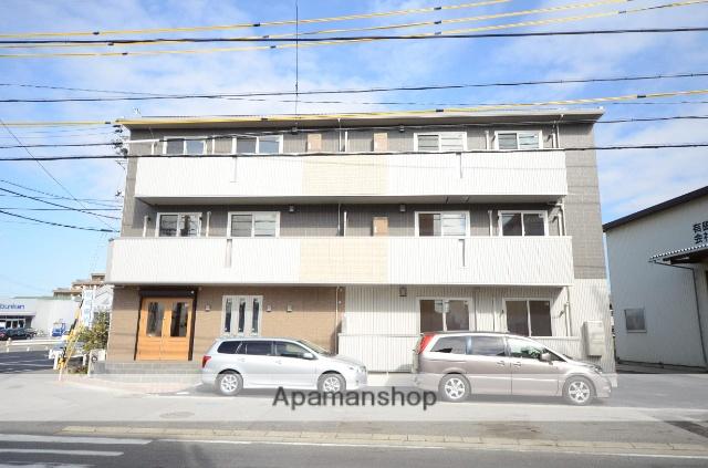 愛知県安城市、牛田駅徒歩32分の築2年 3階建の賃貸アパート
