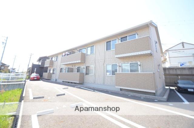 愛知県西尾市、西尾駅徒歩26分の築2年 2階建の賃貸アパート