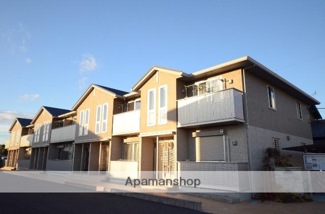愛知県岡崎市、岡崎公園前駅徒歩18分の築1年 2階建の賃貸アパート