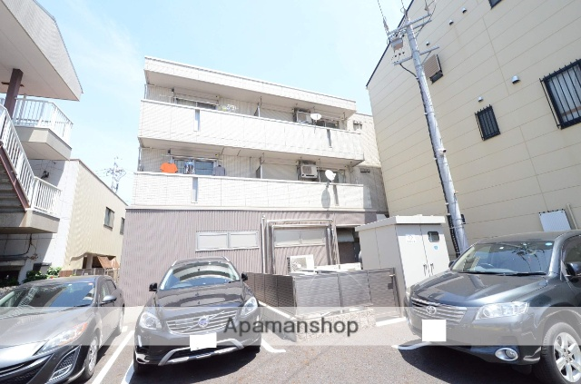 愛知県刈谷市、刈谷駅徒歩1分の築2年 3階建の賃貸マンション