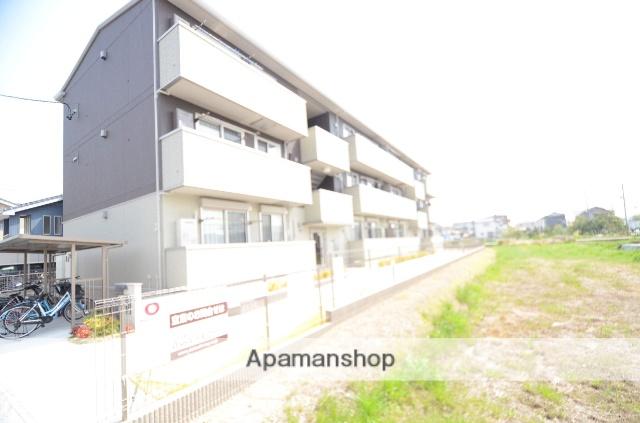 愛知県岡崎市、矢作橋駅徒歩11分の新築 3階建の賃貸アパート