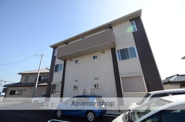 愛知県豊田市、三河八橋駅徒歩27分の新築 3階建の賃貸アパート