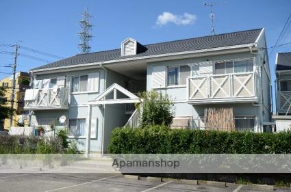 愛知県安城市、新安城駅徒歩18分の築27年 2階建の賃貸アパート