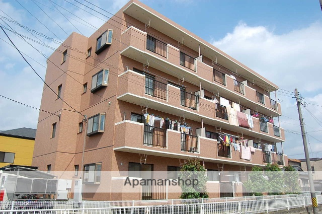 愛知県安城市、安城駅徒歩22分の築22年 4階建の賃貸マンション