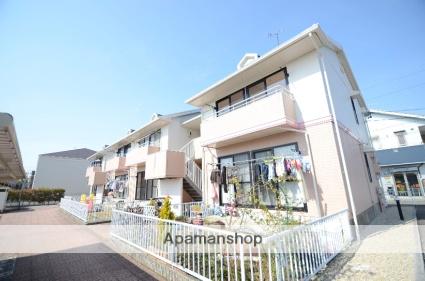 愛知県岡崎市、西岡崎駅名鉄バスバス10分矢作下車後徒歩6分の築23年 2階建の賃貸アパート