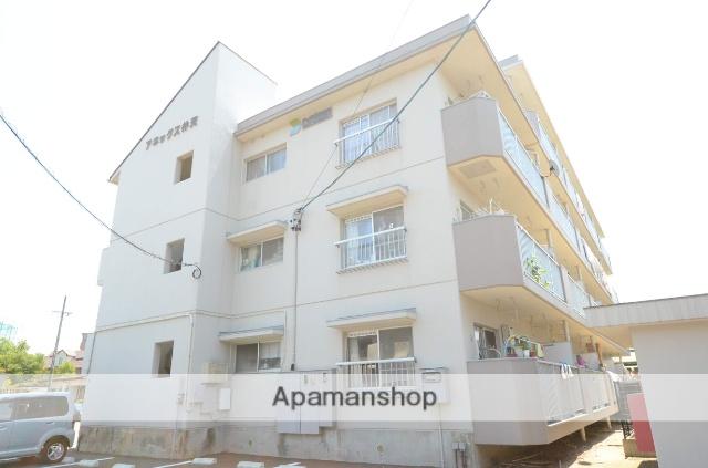 愛知県安城市、安城駅徒歩13分の築28年 4階建の賃貸マンション