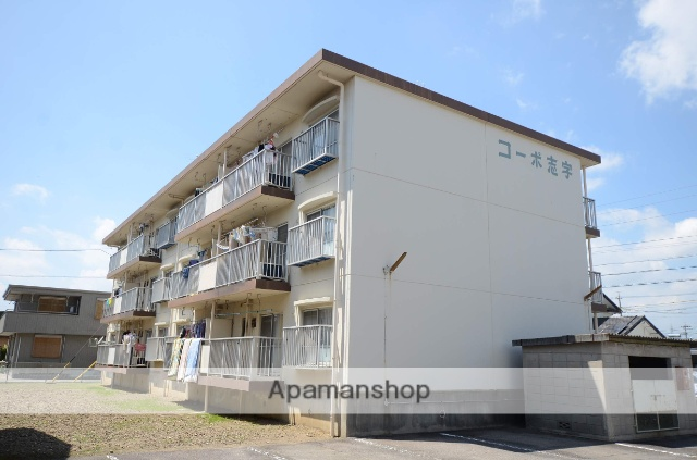 愛知県安城市、三河安城駅徒歩12分の築30年 3階建の賃貸マンション