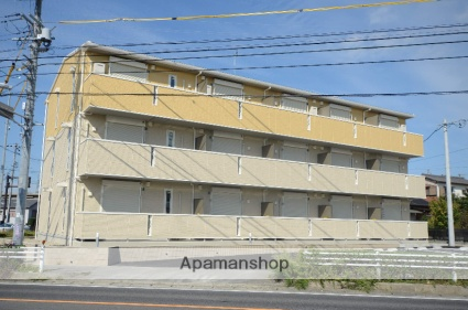 愛知県刈谷市、野田新町駅徒歩4分の新築 3階建の賃貸アパート