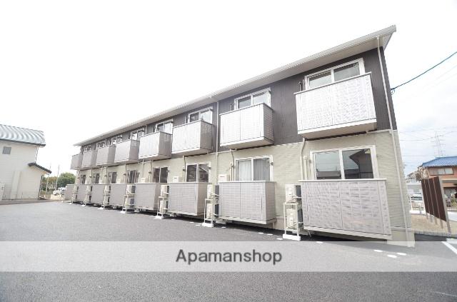 愛知県安城市、新安城駅徒歩18分の新築 2階建の賃貸アパート