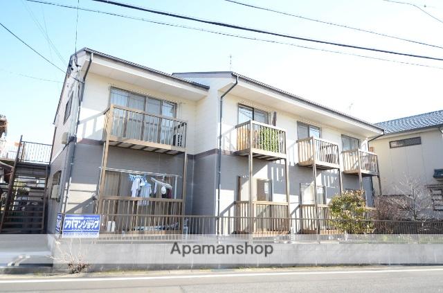 愛知県安城市、安城駅徒歩13分の築20年 2階建の賃貸アパート