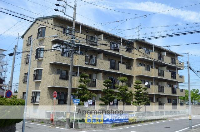 愛知県安城市、安城駅徒歩9分の築27年 4階建の賃貸マンション