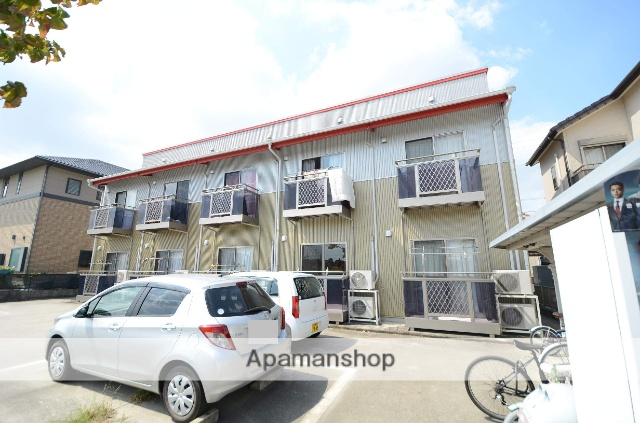 愛知県安城市、新安城駅徒歩10分の築12年 2階建の賃貸アパート