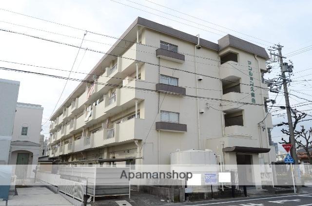 愛知県安城市、安城駅徒歩12分の築37年 4階建の賃貸マンション