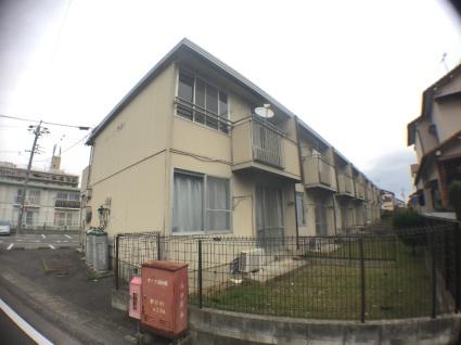 愛知県海部郡蟹江町、近鉄蟹江駅徒歩20分の築30年 2階建の賃貸アパート