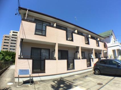 愛知県弥富市、佐古木駅徒歩3分の築14年 2階建の賃貸アパート