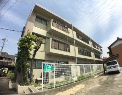 愛知県海部郡蟹江町、近鉄蟹江駅徒歩30分の築22年 3階建の賃貸マンション