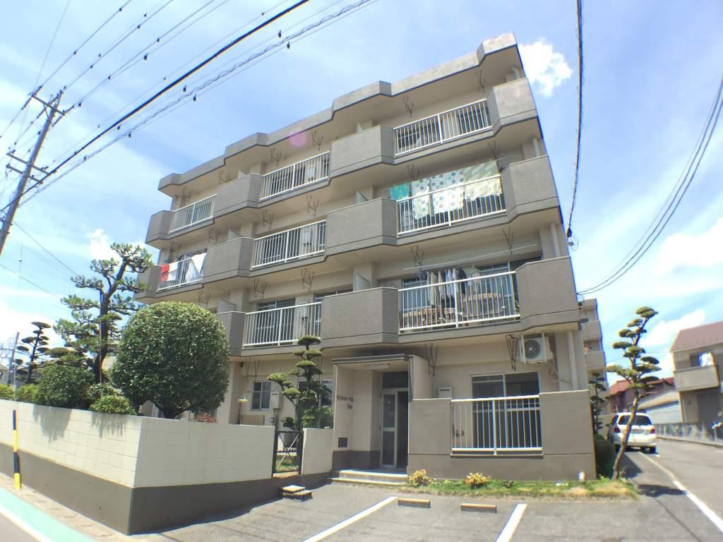 愛知県津島市、津島駅徒歩15分の築29年 4階建の賃貸マンション