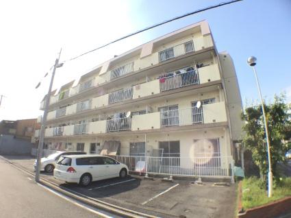 愛知県名古屋市中川区、戸田駅徒歩6分の築30年 4階建の賃貸マンション