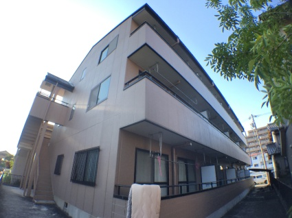 愛知県海部郡蟹江町、近鉄蟹江駅徒歩8分の築17年 3階建の賃貸マンション
