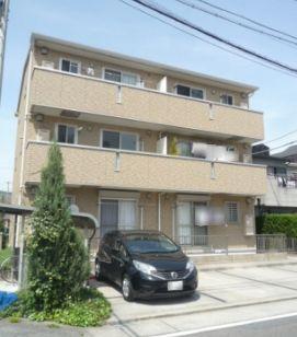 愛知県名古屋市中川区、春田駅徒歩22分の築8年 3階建の賃貸アパート
