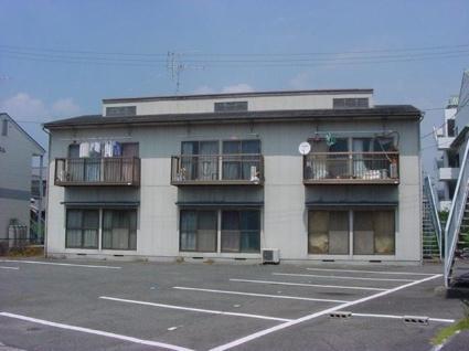 愛知県海部郡蟹江町、蟹江駅徒歩10分の築30年 2階建の賃貸アパート
