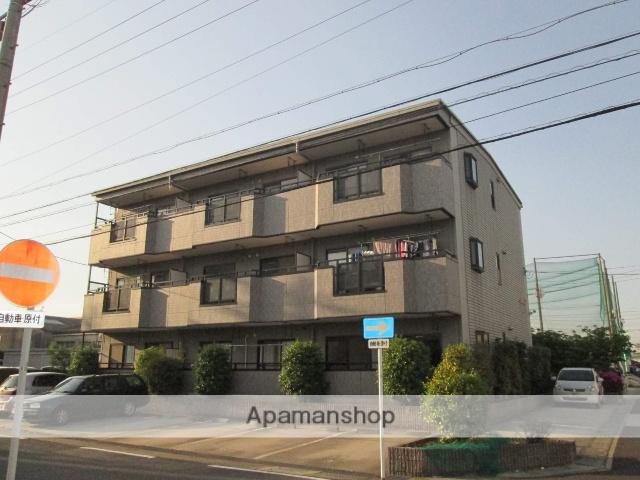 愛知県名古屋市天白区、塩釜口駅徒歩6分の築17年 3階建の賃貸マンション