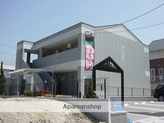 愛知県名古屋市緑区、有松駅市バスバス9分鎌倉台中学校下車後徒歩2分の築11年 2階建の賃貸アパート