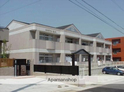 愛知県名古屋市緑区、鳴子北駅市バスバス15分緑図書館下車後徒歩5分の築22年 2階建の賃貸アパート