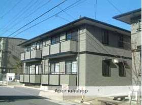 愛知県名古屋市緑区、平針駅バス18分東神の倉2下車後徒歩8分の築17年 2階建の賃貸アパート