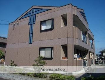 愛知県名古屋市緑区、平針駅市バスバス16分東神の倉一丁目下車後徒歩3分の築15年 2階建の賃貸アパート