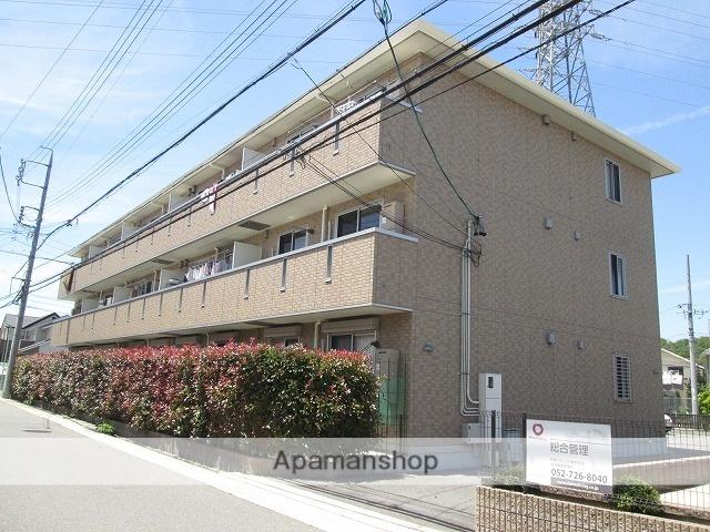 愛知県名古屋市緑区、平針駅市バスバス15分東神の倉一丁目下車後徒歩3分の築8年 3階建の賃貸マンション
