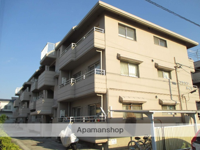 愛知県名古屋市天白区、瑞穂運動場東駅徒歩22分の築33年 4階建の賃貸マンション