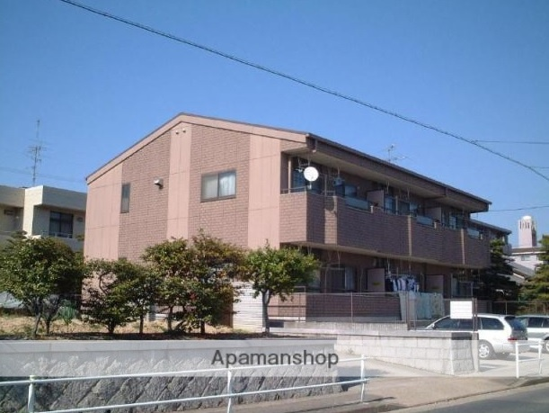 愛知県名古屋市緑区、左京山駅徒歩10分の築22年 2階建の賃貸アパート