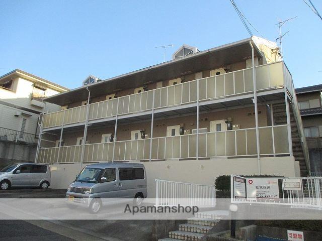 愛知県名古屋市天白区、植田駅徒歩10分の築26年 2階建の賃貸アパート