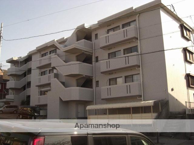 愛知県名古屋市緑区、徳重駅徒歩17分の築25年 4階建の賃貸マンション