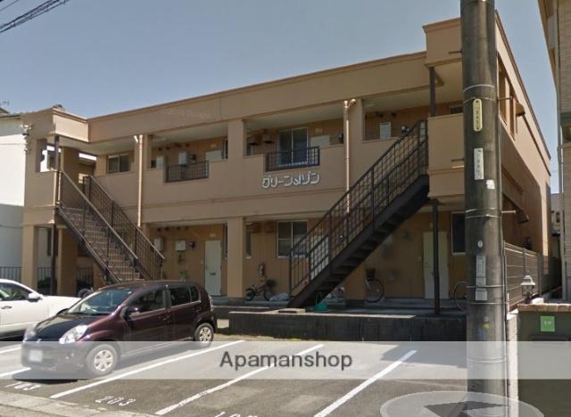 愛知県名古屋市緑区、左京山駅徒歩10分の築28年 2階建の賃貸アパート