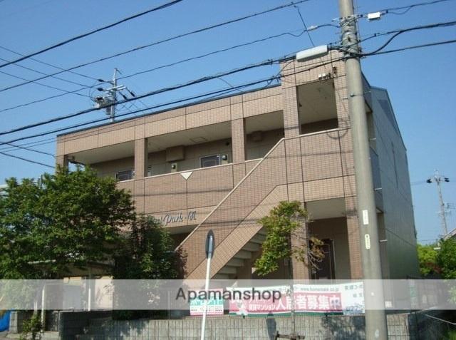愛知県名古屋市緑区、徳重駅名古屋市営バスバス8分篭山下車後徒歩3分の築18年 2階建の賃貸アパート