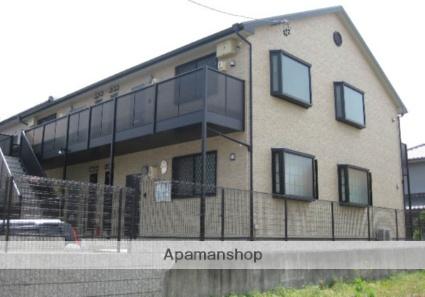 愛知県名古屋市緑区、野並駅市バスバス9分篠の風下車後徒歩3分の築10年 2階建の賃貸アパート