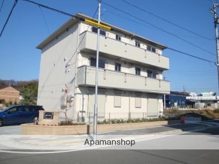 愛知県名古屋市名東区、星ヶ丘駅市バスバス12分焼山橋下車後徒歩5分の築6年 3階建の賃貸アパート