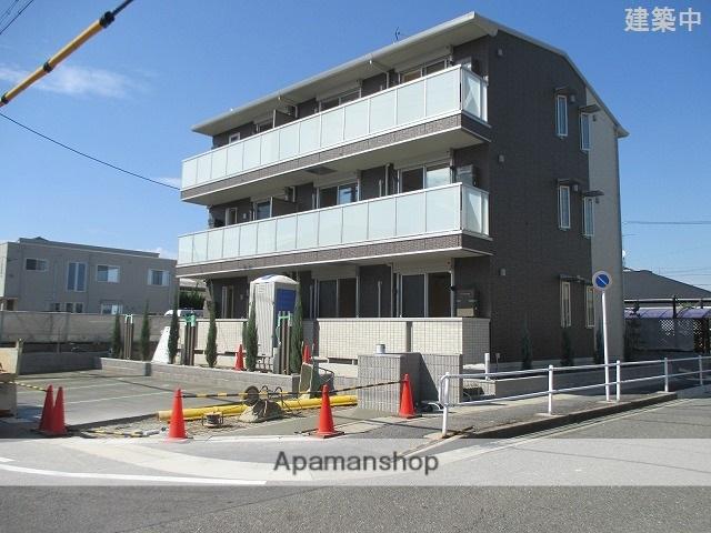 愛知県名古屋市天白区、塩釜口駅徒歩8分の築1年 3階建の賃貸アパート