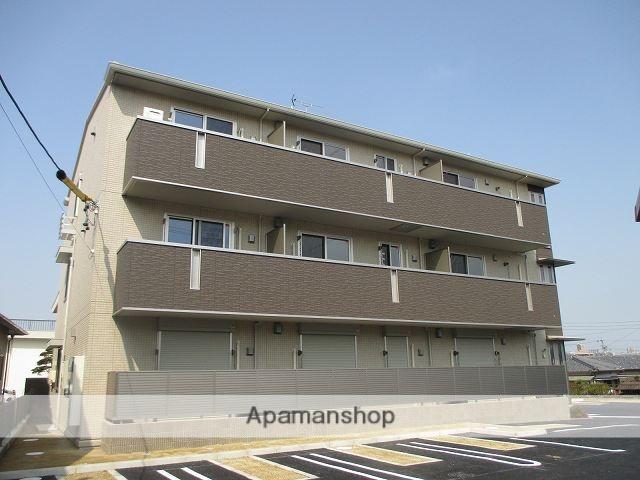 愛知県名古屋市天白区、野並駅徒歩20分の築2年 3階建の賃貸アパート