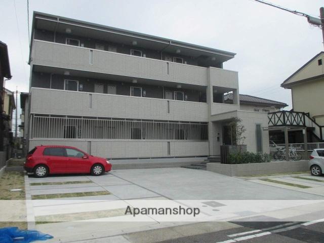 愛知県名古屋市天白区、植田駅徒歩17分の新築 3階建の賃貸アパート