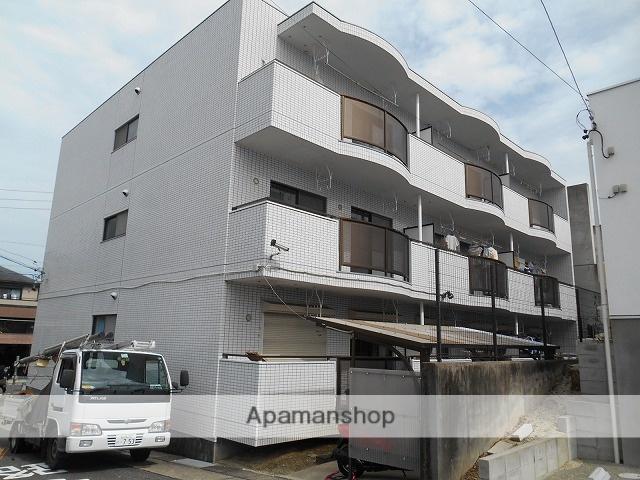 愛知県名古屋市天白区、植田駅市バスバス12分焼山下車後徒歩5分の築28年 3階建の賃貸マンション
