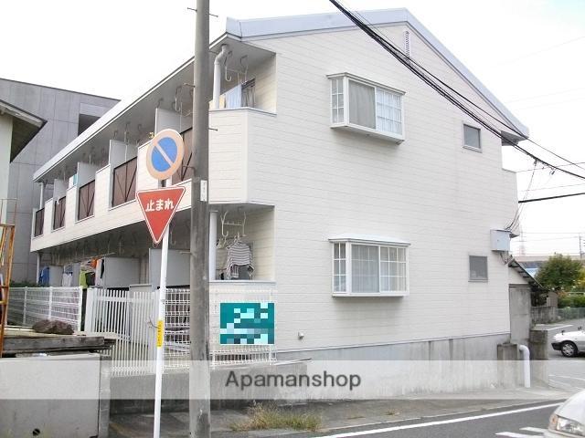 愛知県日進市、赤池駅徒歩5分の築28年 2階建の賃貸アパート
